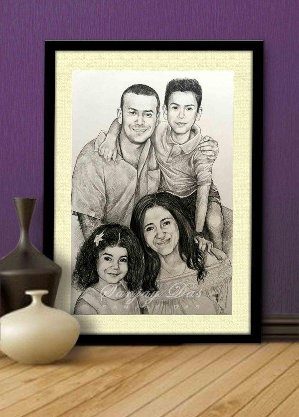 portrait artist in delhi