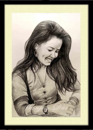 charcoal-portrait-artist-in-delhi