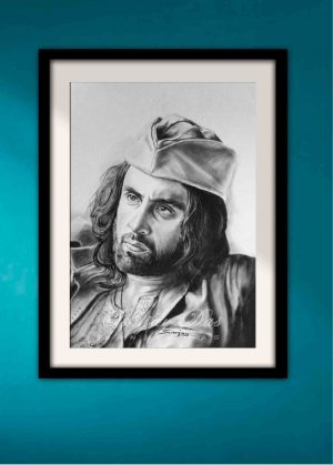 dry-brush-portrait-artist-in-delhi