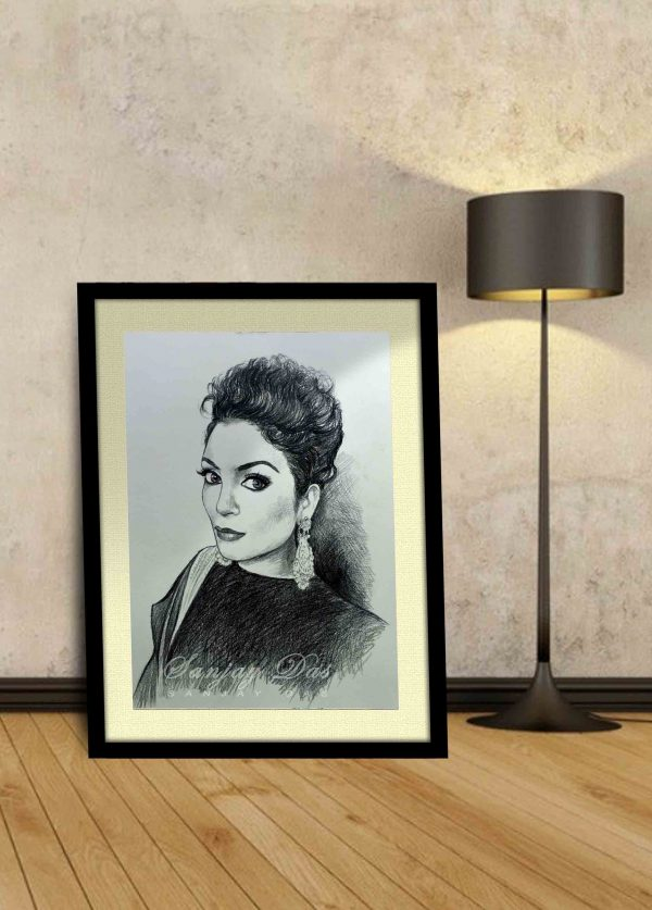 charcoal-portrait-artist-in-delhi